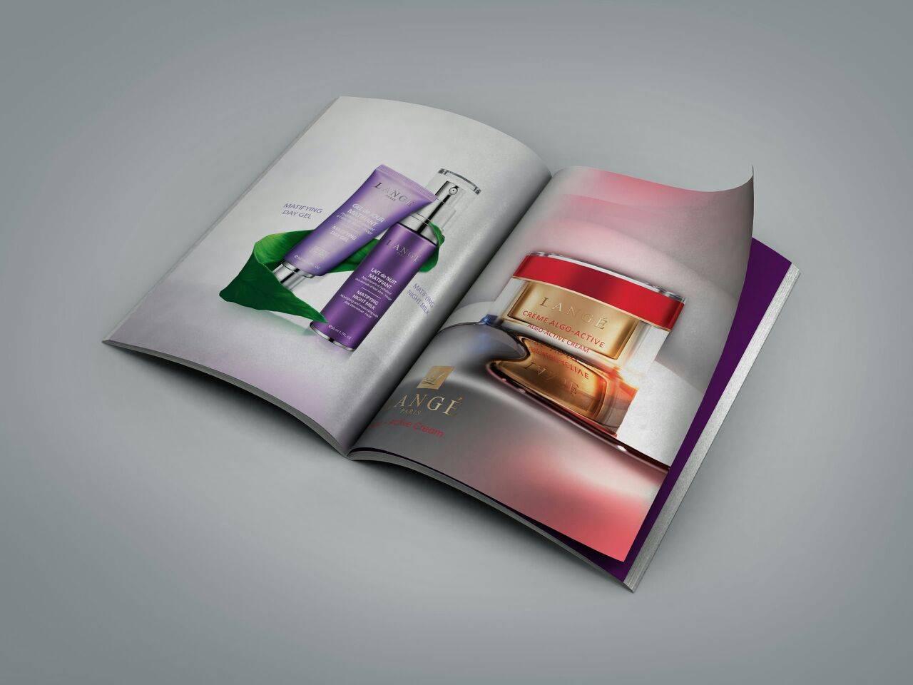 یک تصویر خوب در تبلیغات مجله ای به هزار کلمه می ارزد