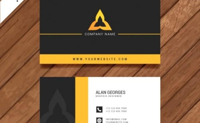 آموزش طراحی کارت ویزیت در ۳ مرحله