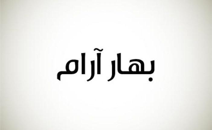طراحی لوگو شرکت بهار آرام
