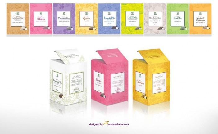 طراحی جعبه بصورت حرفه ای جهت بسته بندی