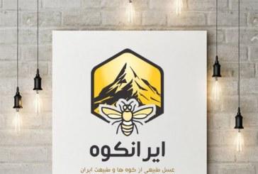طراحی جعبه عسل ایران کوه
