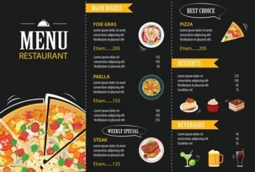 نکاتی برای طراحی لیست یا منوی رستورانها