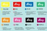 تأثیر انکار ناپذیر رنگ در تبلیغات